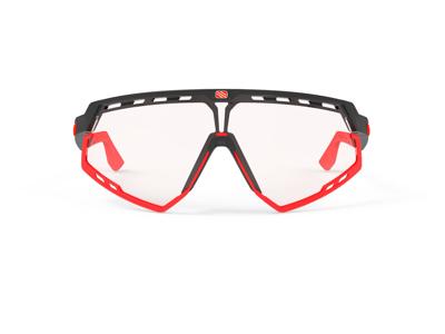 Rudy Project Defender - Løbe- og cykelbrille - Impactx Fotokromisk 2 - Sort-Rød