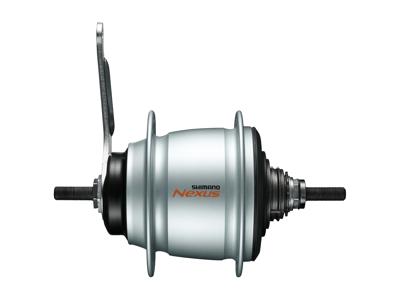 Shimano Nexus - Gearnav med 8 gear og fodbremse - Type SG-C6001-8C - Sølv
