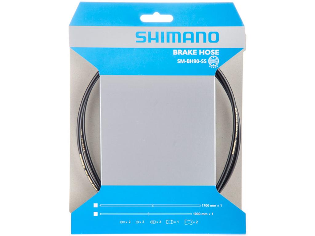 Shimano Bremseslange model SM-BH90-SS 1700mm Sort thumbnail