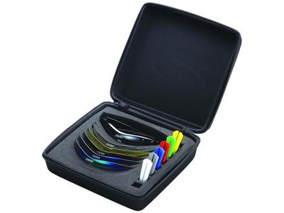 BBB - Løbe- og cykelbrille Select med 14 dele - Sort