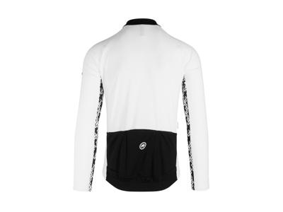 Assos Mille Jersey GT - Cykeltrøje m. lange ærmer - Hvid