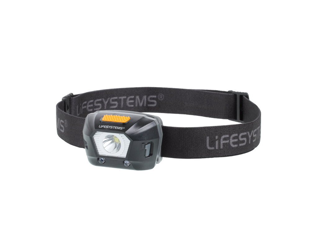 LifeSystems Intensity 230 Head Torch - Pannlampa - Uppladdningsbar - Svart