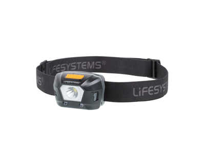 LifeSystems Intensity 230 Head Torch - Pandelampe - Genopladelig - Sort