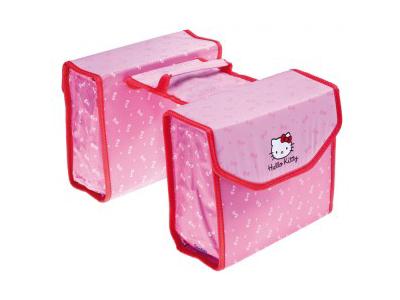 Bike Parts - Hello Kitty - Rosa med Hello Kitty - Cykelväskor till pakethållare