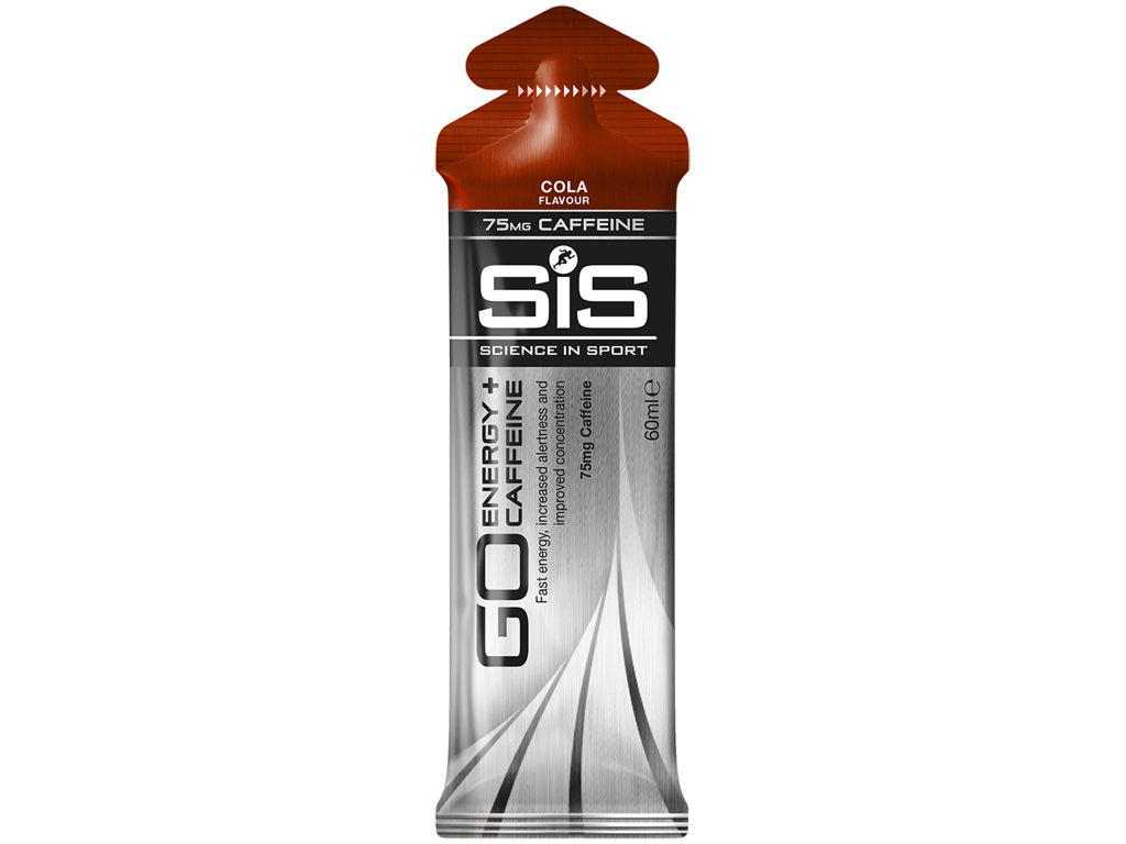 SIS GO - Energy+Caffeine gel - Koffein-gel -  Cola - 60ml