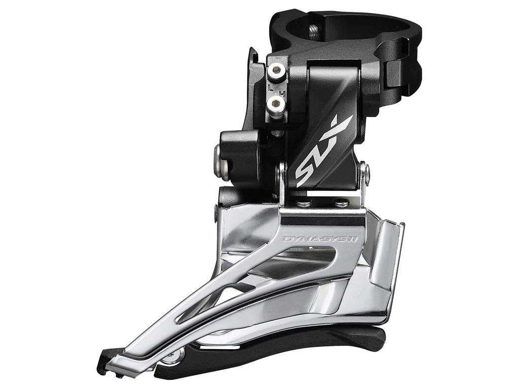 Shimano SLX - Forskifter FD-M7025 - 2 x 11 gear med High clamp spændebånd - 28,6-34,9mm thumbnail