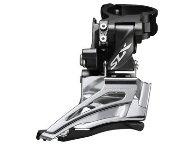 Shimano SLX - Forskifter FD-M7025 - 2 x 11 gear med High clamp spændebånd - 28,6-34,9mm