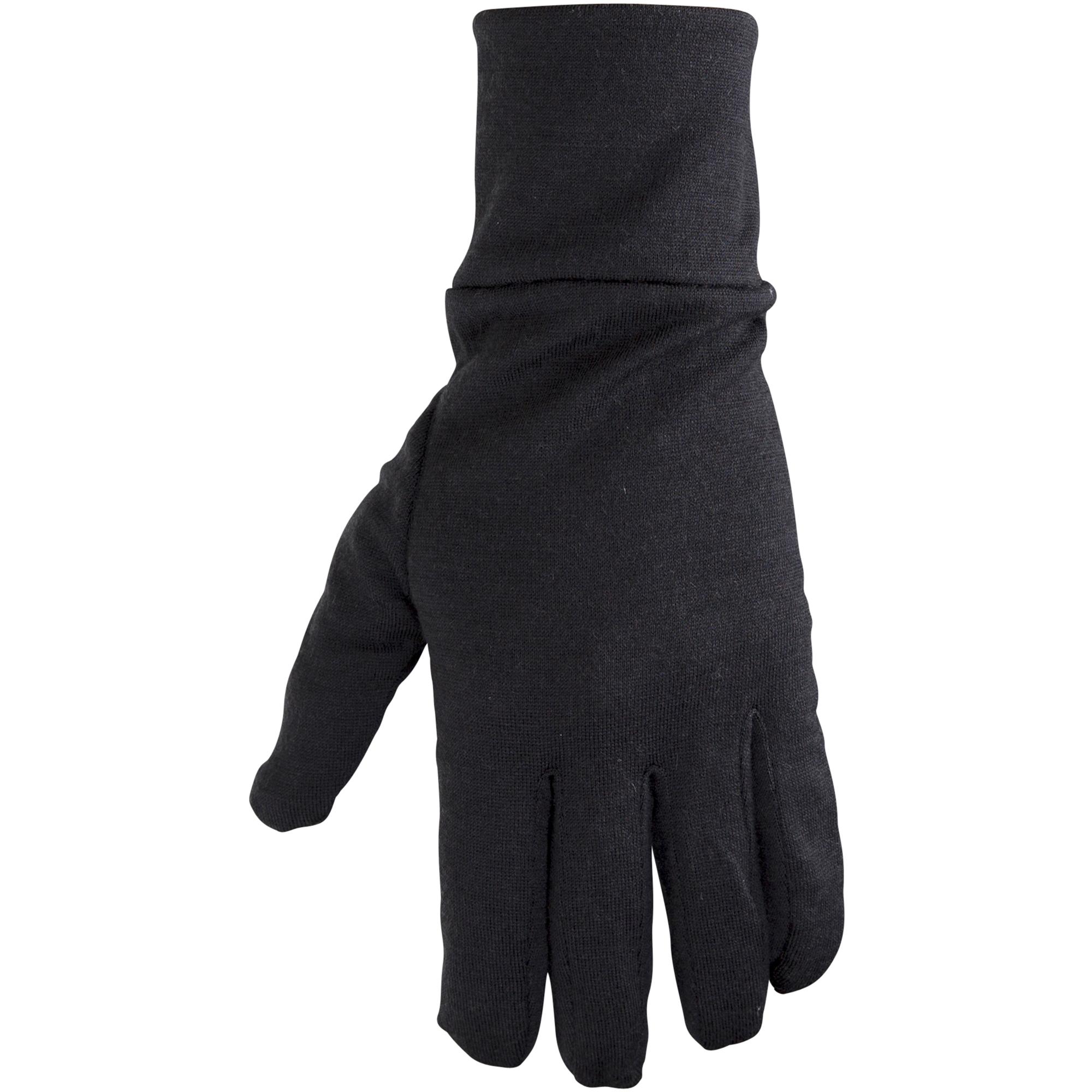 Ulvang Liner Glove - Uld inderhandske - Sort | Gloves