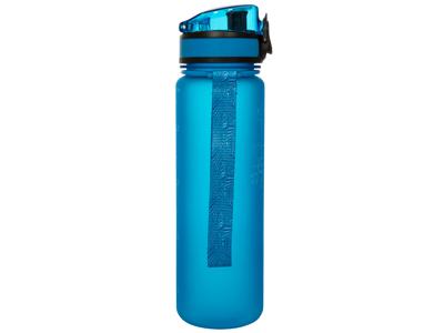 Trespass Flintlock - Sportsflaske 500ml. - BPA fri - Håndledsstrop - Blå