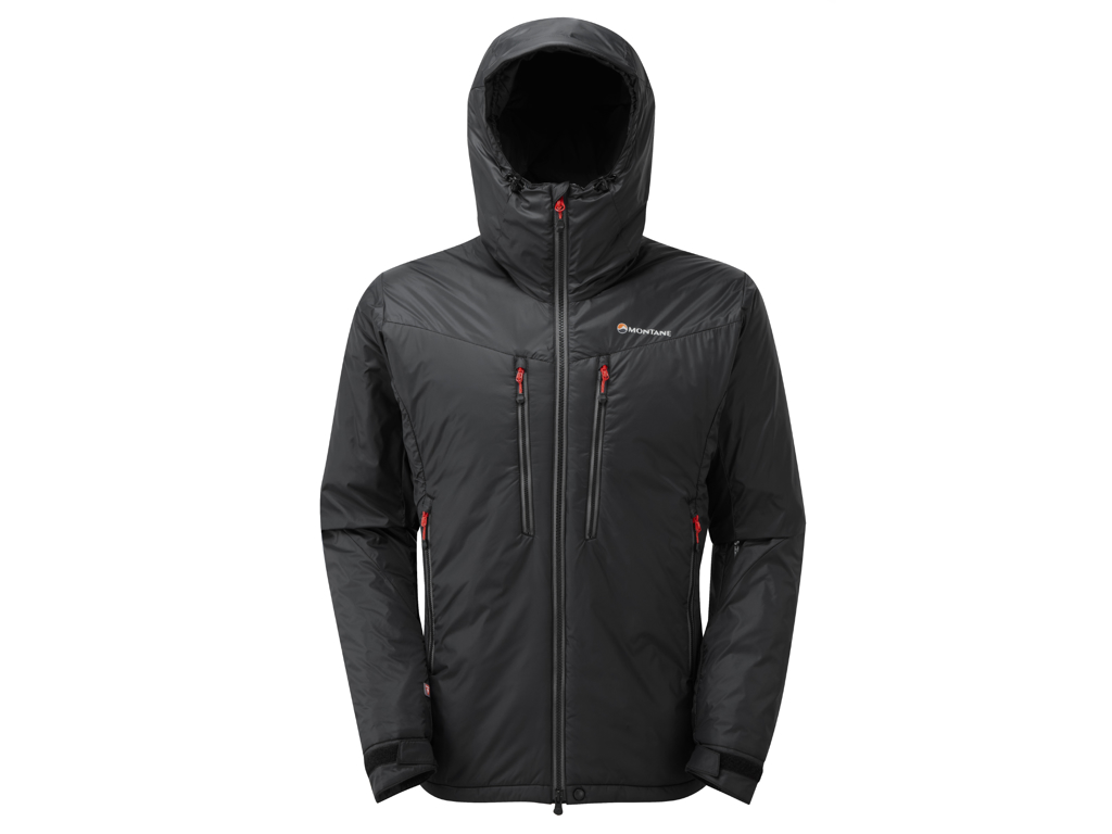 Montane Flux Jacket - Fiberjakke - Herre - Sort - Str. XL thumbnail