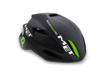 MET Manta TDD cykelhjelm - Sort/grøn