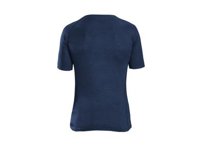 GripGrab Merino Polyfiber Base Layer - Svedundertrøje - Navy blå