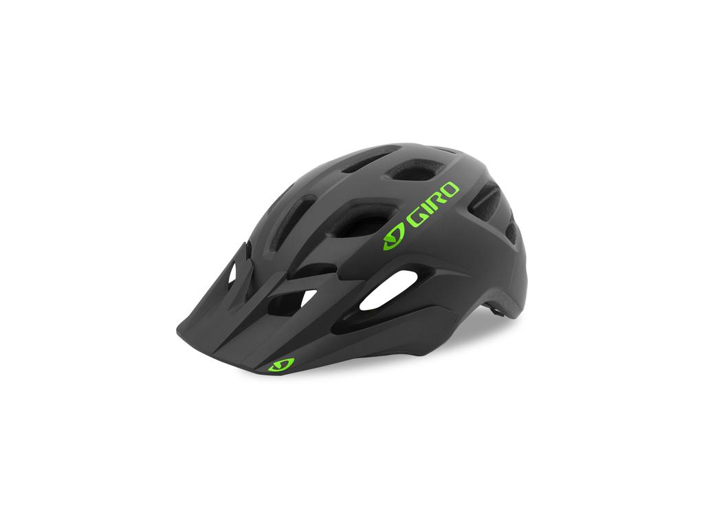 Giro Tremor - Cykelhjelm junior - Str. 50-57 cm - Mat sort