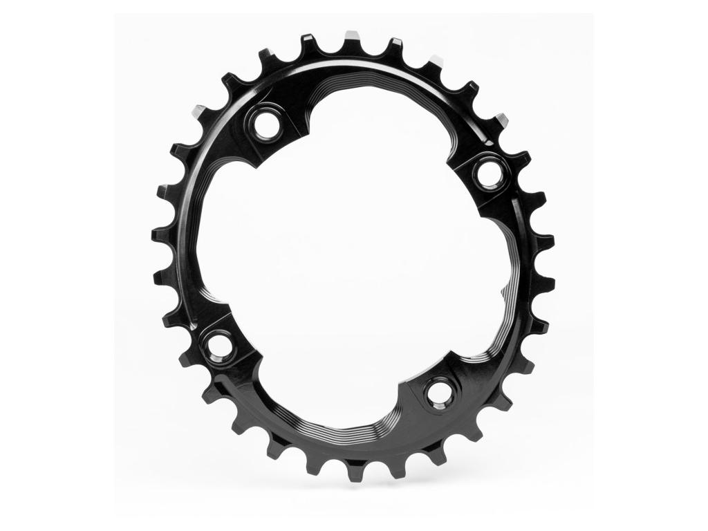 absoluteBLACK Oval klinge - Sram - BCD: ø94 - 4 huller - 30 tænder - Sort thumbnail