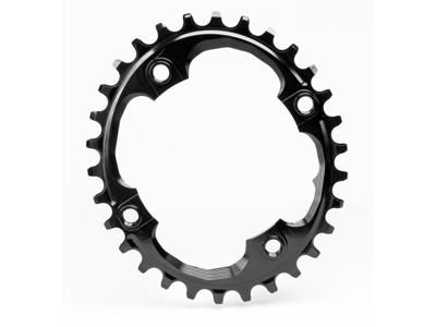 absoluteBLACK Oval klinge - Sram - BCD: ø94 - 4 huller - 30 tænder - Sort