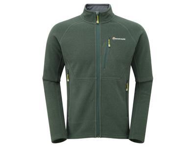 Montane Volt Jacket - Fleecejakke Mand - Grøn