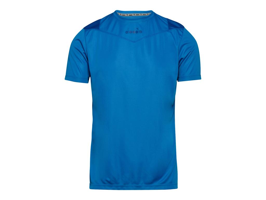 Image of   Diadora X-run SS T-shirt - Løbe t-shirt - Herre - Blå - Str. L