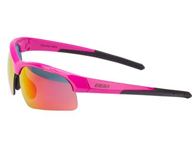 BBB - Löpar- och cykelglasögon Impress Lady - 3 set linser - Rosa
