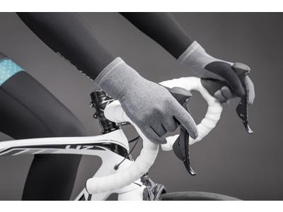 GripGrab Insulator - Dame touchskærm cykelhandske - Grå