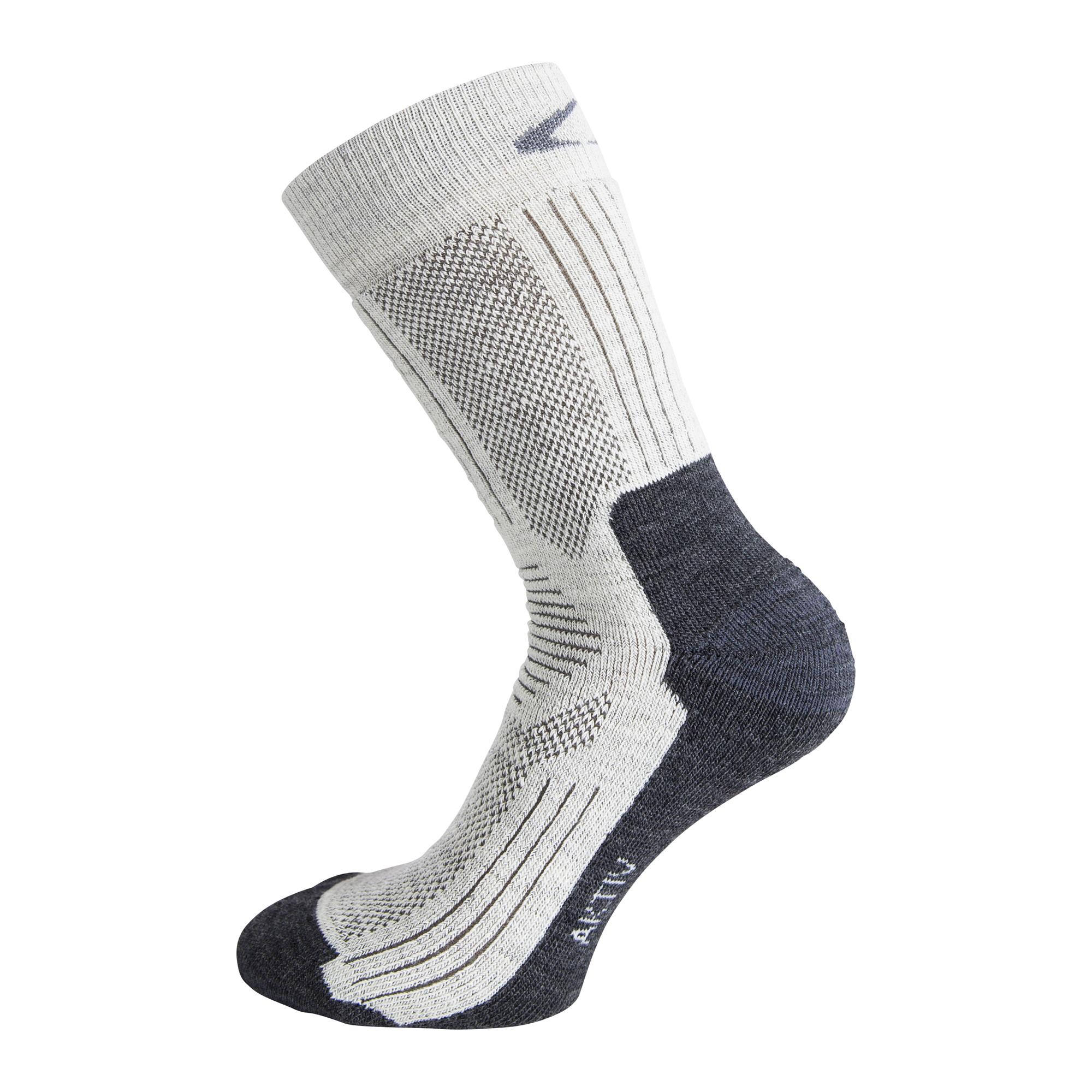 Ulvang Aktiv - Mediumtyk uldsok - Natur/Grå | Socks
