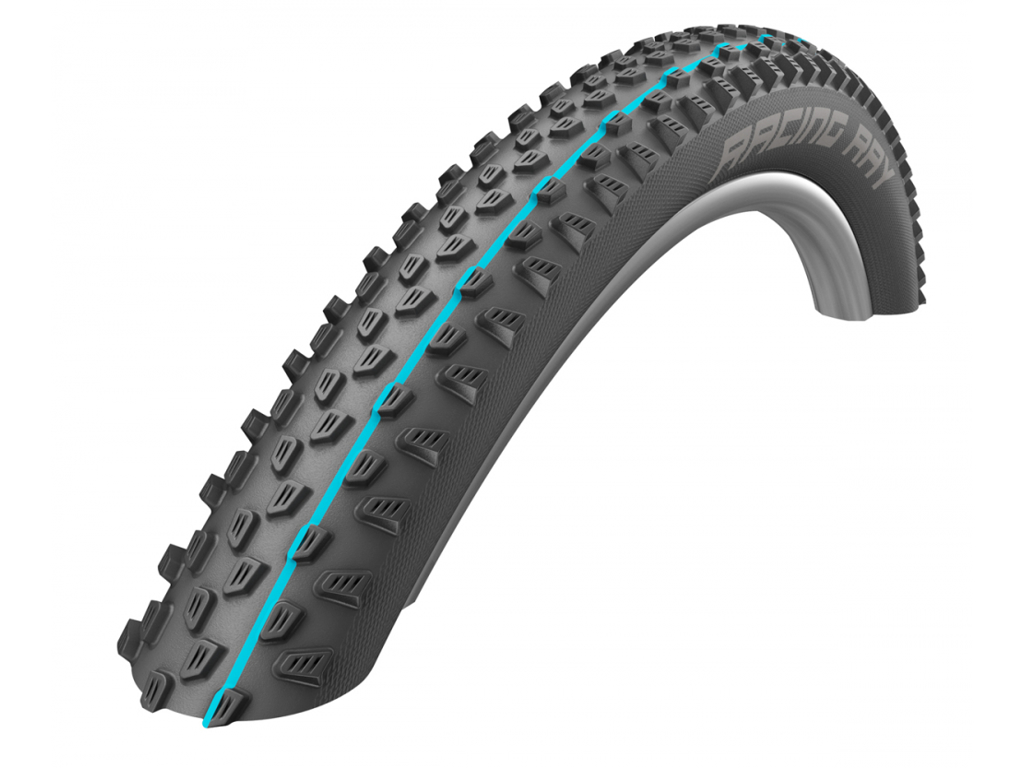Image of   Schwalbe Racing Ray Addix Speedgrip Evolution Line SnakeSkin TL-Easy Foldedæk - 29x2,10