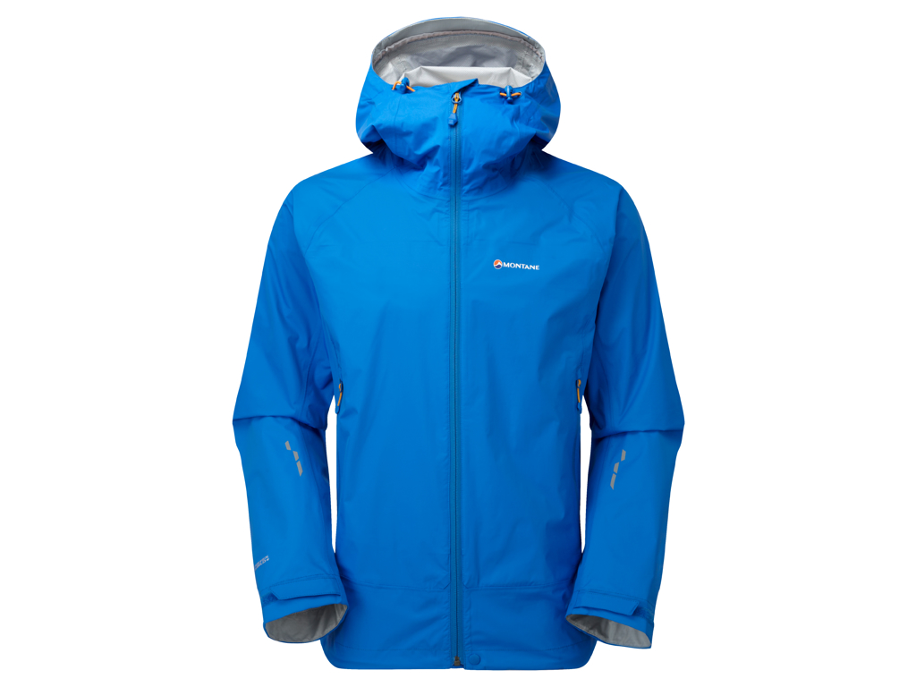 Image of   Montane Atomic Jacket - Skaljakke Mand - Blå - Large