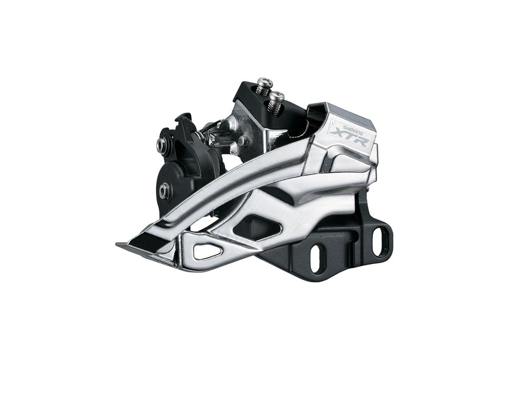 Image of   Shimano XTR - Forskifter FD-M985 til 2 x 10 gear til krankboks montering
