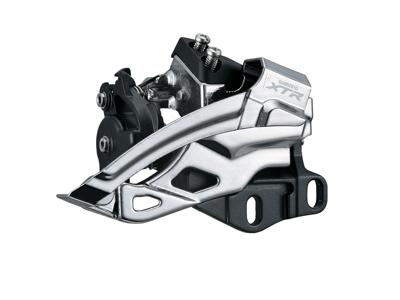 Shimano XTR - Forskifter FD-M985 til 2 x 10 gear til krankboks montering