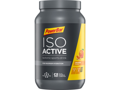 Powerbar IsoActive - Energidrik - Orange 600 gram