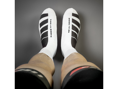 GripGrab RaceAero TT skoovertræk - sort/hvid