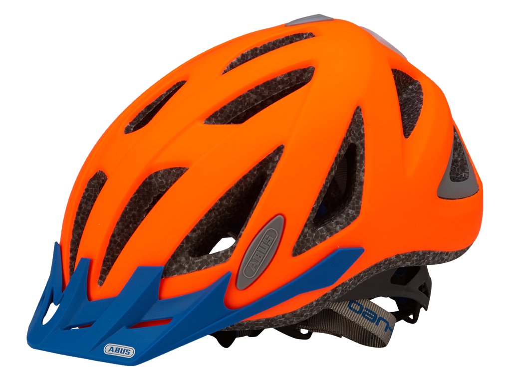 Cykelhjelm Abus Urban-I v.2 - Neon orange