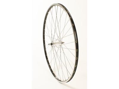 Forhjul med Ryde Chrina fælg - 700c - Sort.