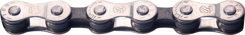 YBN - Kæde 8 Gear - S88-S - 116 Led - Sølv/Brun | Chains