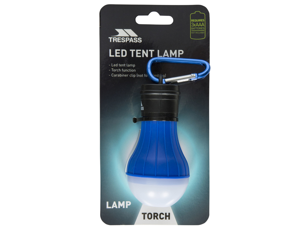 Trespass Glow Worm Tältlampa LED Röd (SEK 123,00)