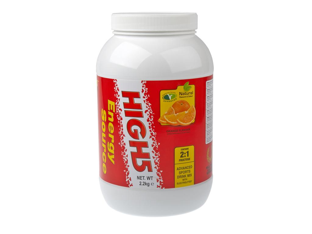 High5 EnergiSource - Energidrik - Appelsin 2,2 kg