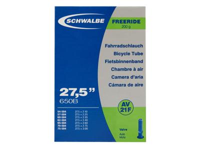 Schwalbe slange 27,5x2,10/3,00 med Auto ventil AV21F
