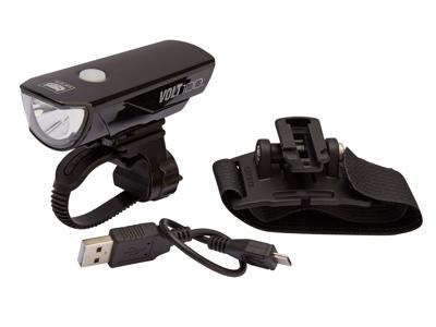 Cateye VOLT100 - Forlygte - 100 lumen - HL-EL150RC USB - Sort
