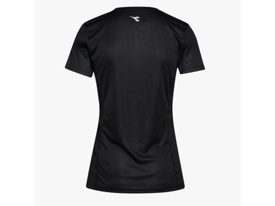 Diadora L. X-Run SS T-Shirt - Løbe t-shirt - Dame - Sort