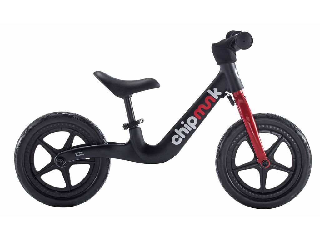 Billede af Chipmunk - Løbecykel - Magnesium - Sort/rød