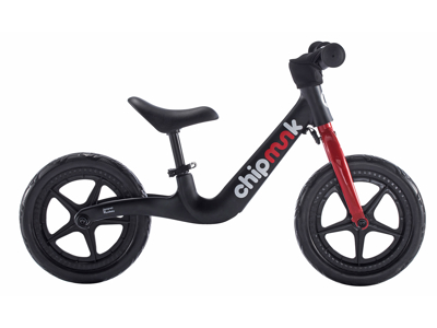 Chipmunk - Løbecykel - Magnesium - Sort/rød