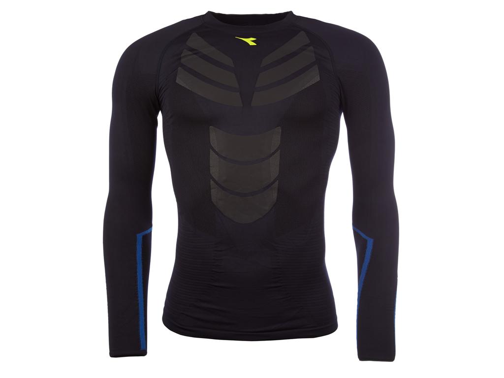 Diadora - LS T-shirt Win - Løbe t-shirt - Herre - Navy thumbnail