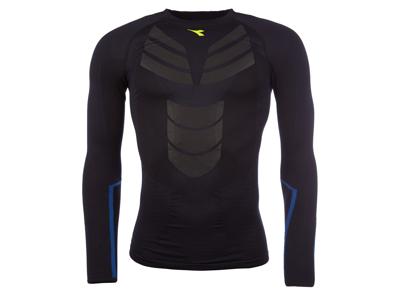 Diadora löpar t-shirt - Herr - Win LS Seamless - Saltire Navy