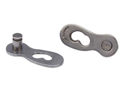 Samleled til ConneX-link til 9 udvendige gear - Sølv