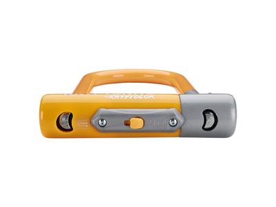 Kryptonite bøjlelås - Kryptolok 2 Mini 7 - U-Lock 8,2x17,8cm - Orange