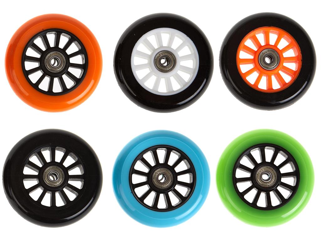 Hjul My Hood til trick løbehjul sort core/grøn thumbnail