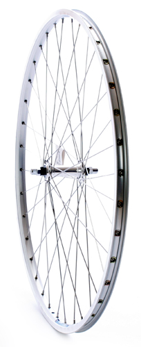 Forhjul 700c city ZAC2000 sølv   Front wheel