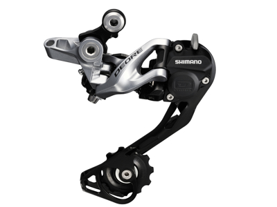 Shimano Deore - Bagskifter 3 x 10 gear Shadow RD+ - Sølv