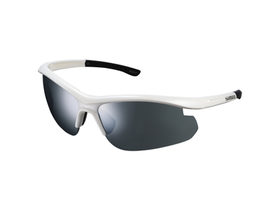 Shimano Cykelglasögon - Solstice SLTC1 - med 2 linsfärger - Matt Vita