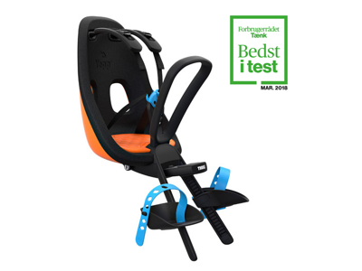 Thule Yepp Nexxt Mini - Cykelstol med 5-punktssele - Orange