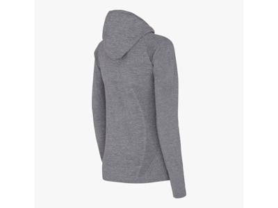 Diadora - L. Seamless LS t-shirt - Løbebluse - Dame - Grå melange